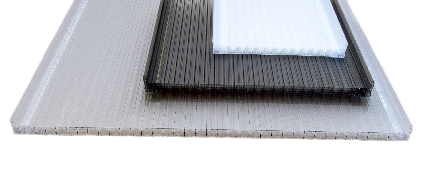 Lexapanel Polycarbonate Standing Seam System Crystalite