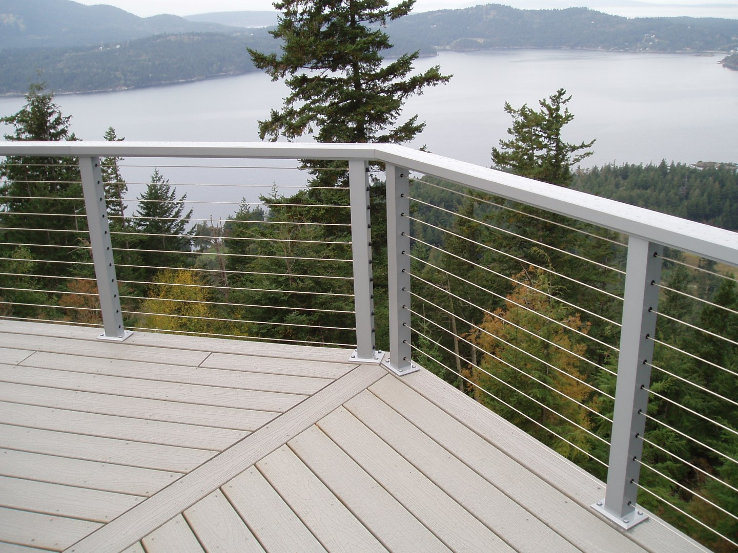 Cable Railing Cable : Stainless steel cable railing crystalite inc